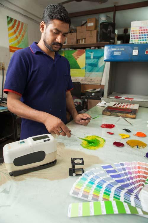 Pantone Color Matching Inks Supplier in Ernakulam Kerala